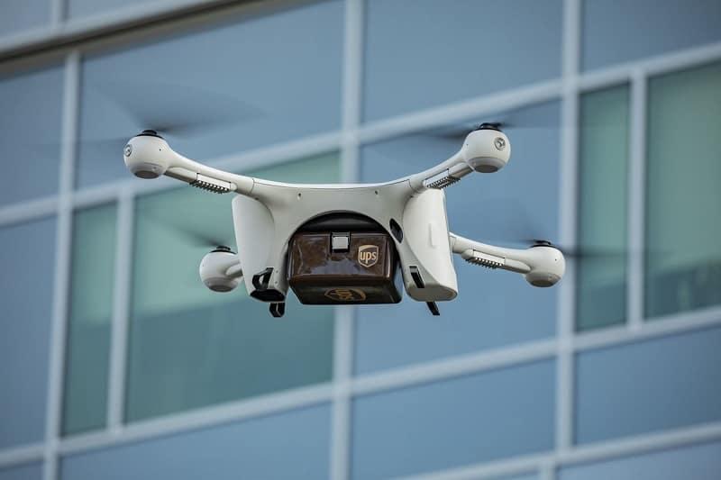 Ups trasporta medicinali con droni