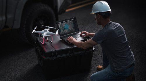 Dji Terra software per modelli 3d con droni