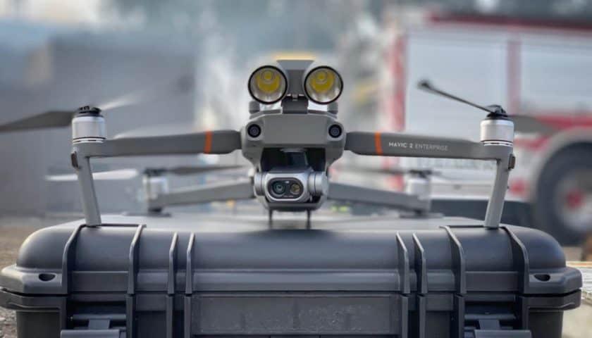 Droni della Protezione Civile Regione Lazio in esercitazione
