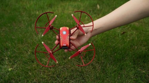 Drone Tello Iron Man Edition per eroi