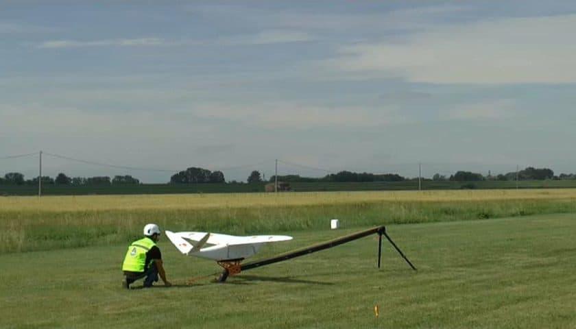 Drone Snam per il monitoraggio della rete del gas