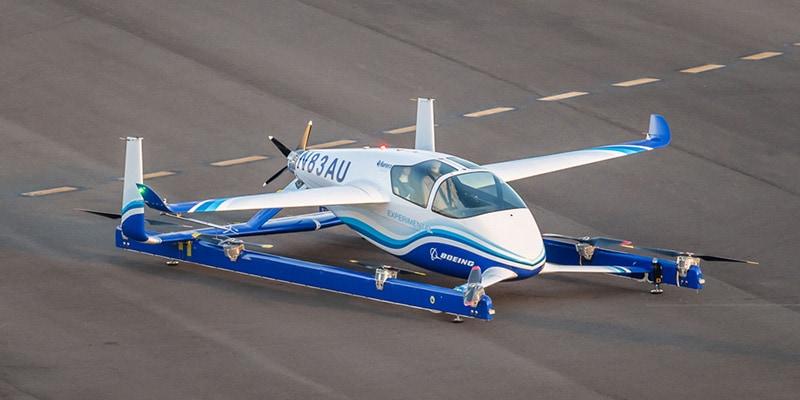 Nuovi droni per il trasporto a decollo verticale