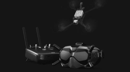 Sistema Dji Fpv per droni racing da gara