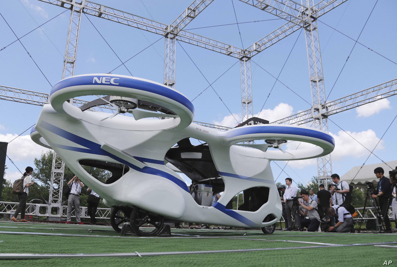 drone per il trasporto di persone
