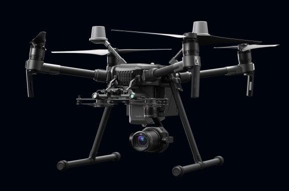 Drone Dji Matrice 210 V2 RTK con gimbal X7 per fotogrammetria