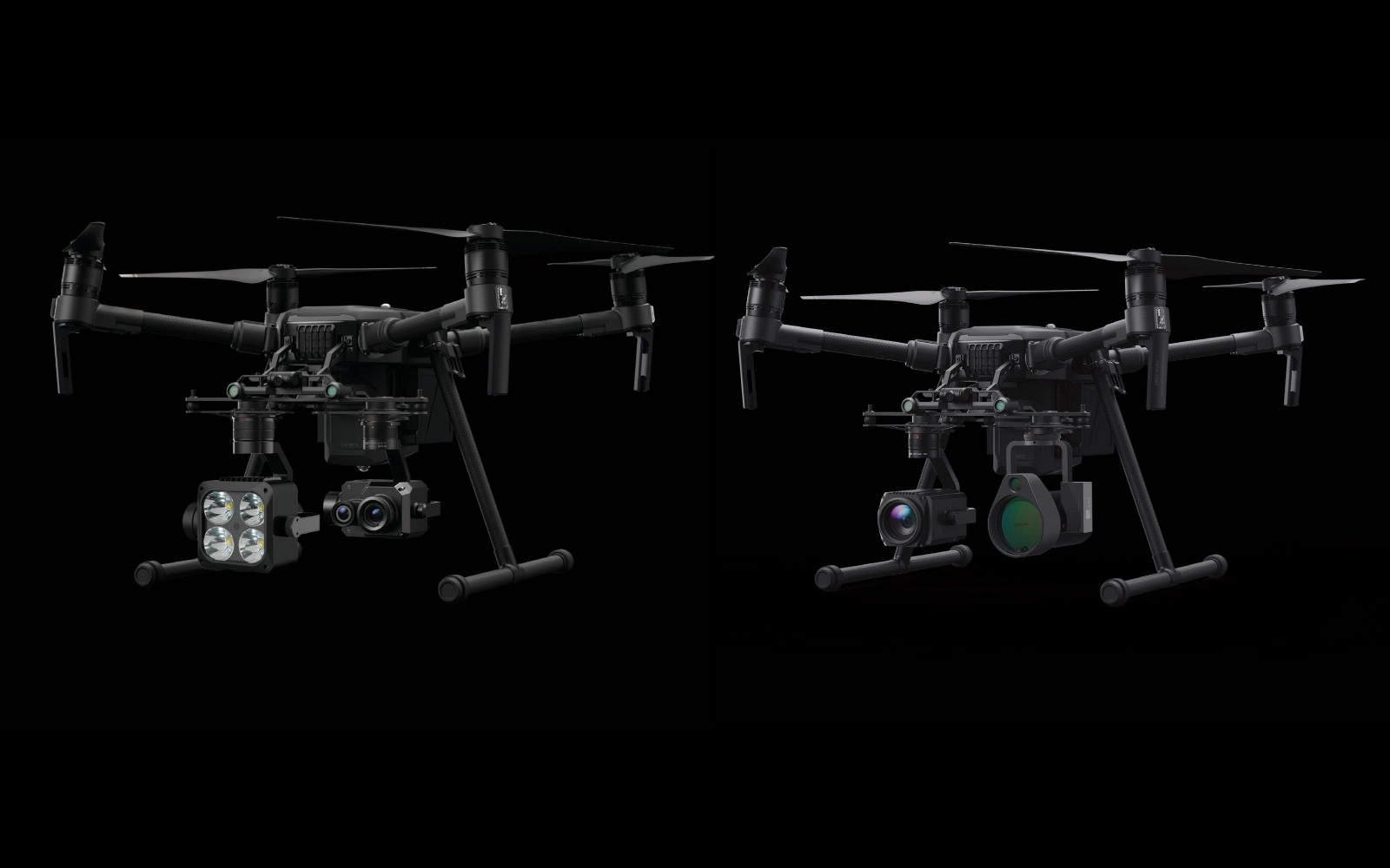 Drone Dji Matrice 210 nuovi payload industriali