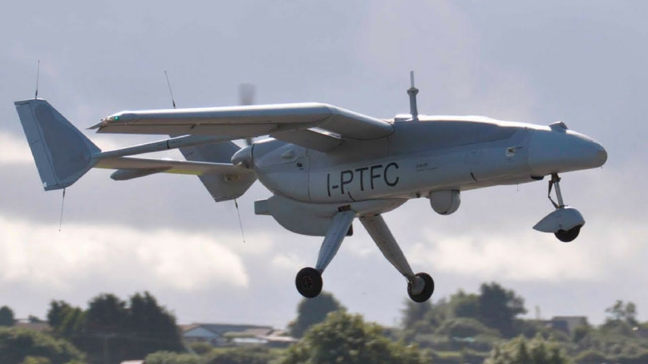 Droni per il monitoraggio dei barconi in mare