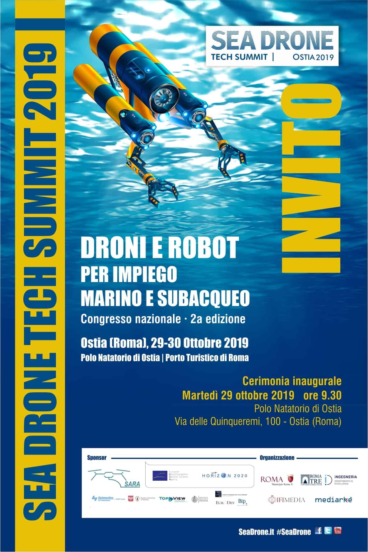 Congresso sui droni marini
