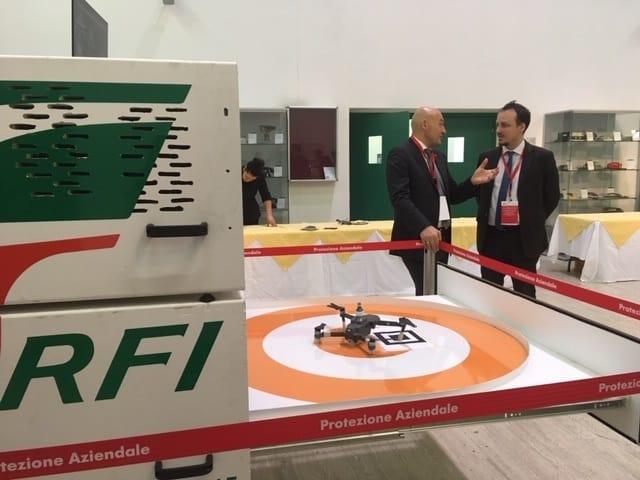 Drone Box di Ferrovie dello Stato