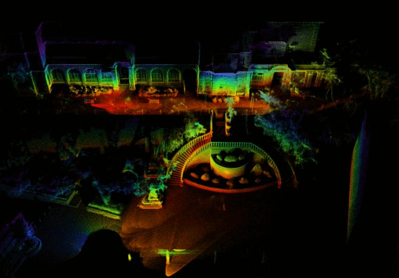 Lidar droni DJI