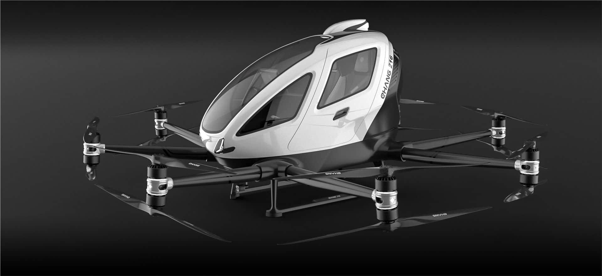 Droni per il trasporto di persone in Europa