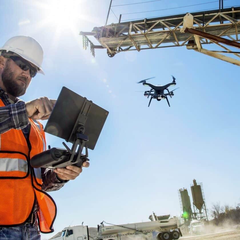 Droni nei settori delle costruzioni