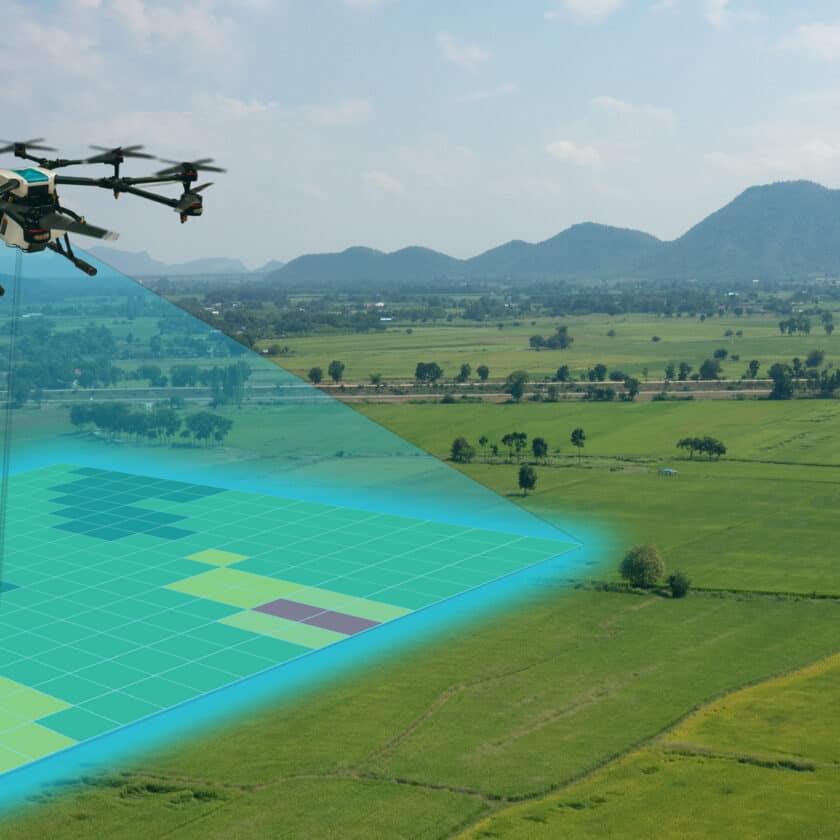 Aerofotogrammetria con drone