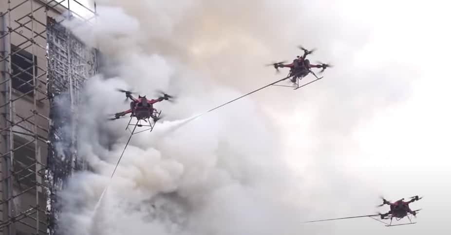Droni e incendi il progetto di Google