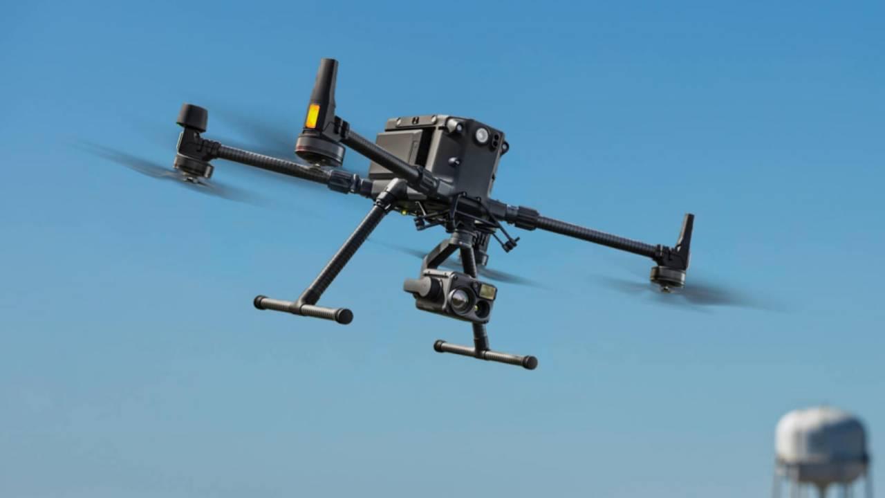 Droni civili in ambienti senza GPS