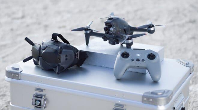 Come attivare il drone DJI Fpv