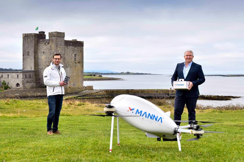 Droni per consegne prodotti