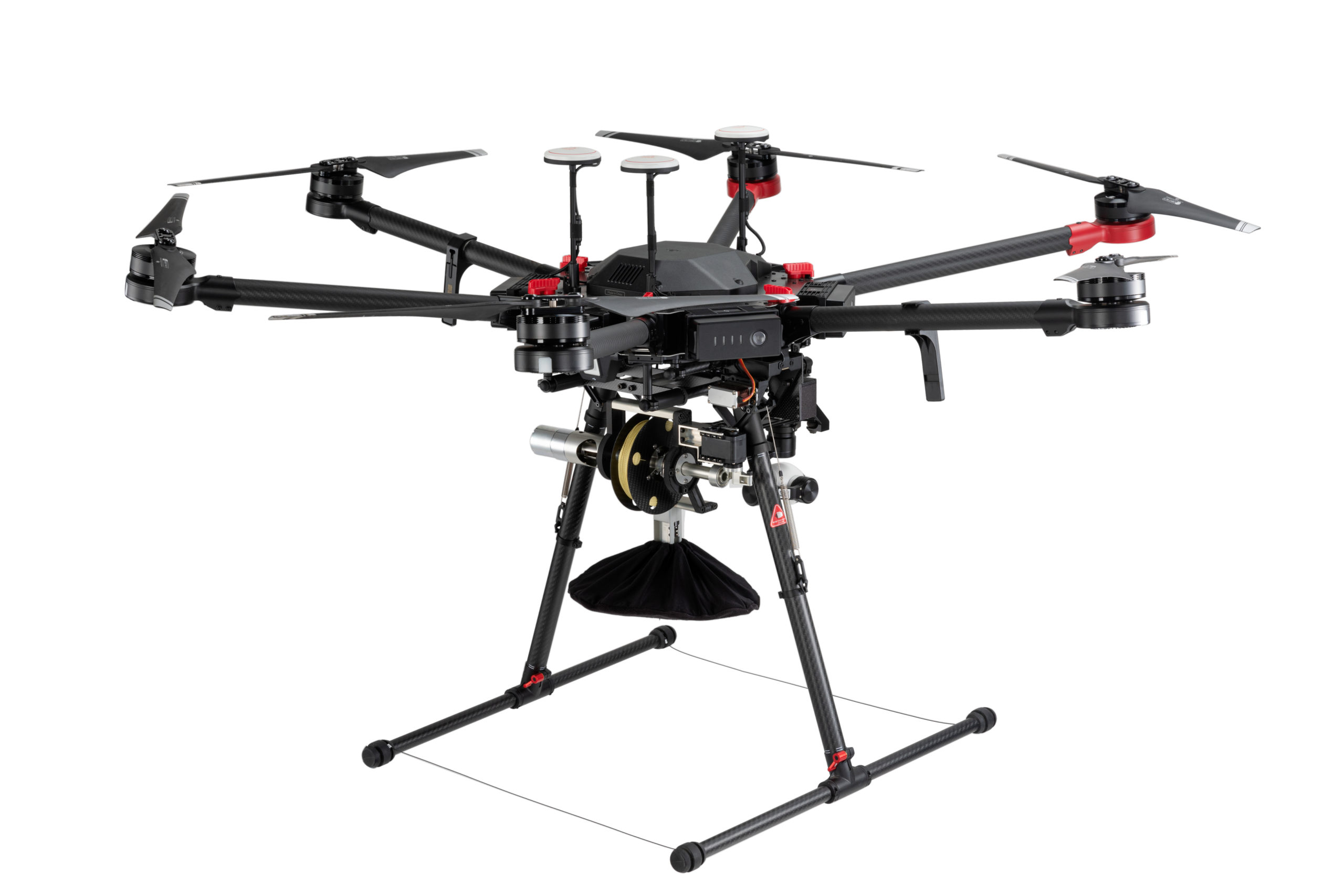 Droni per consegne a caduta libera