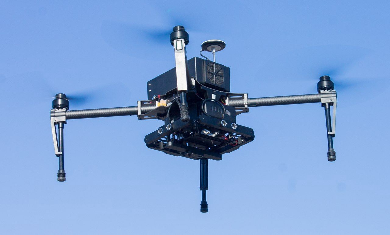 Droni per il censimento di scarichi sui fiumi