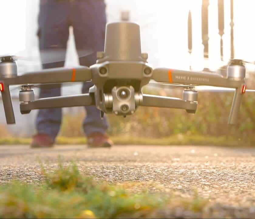 Droni per ispezionare le frane