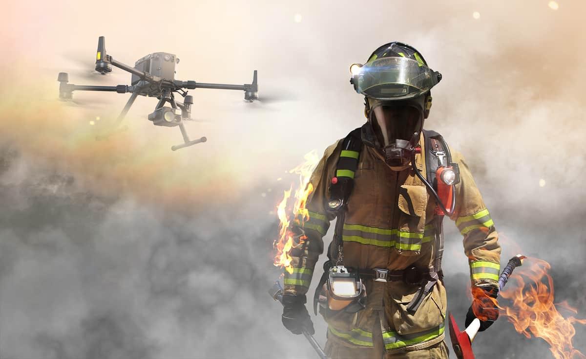Prevenzione degli incendi con droni