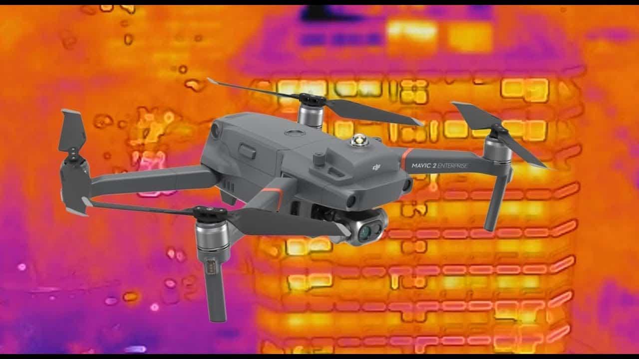 Droni per mappature termiche