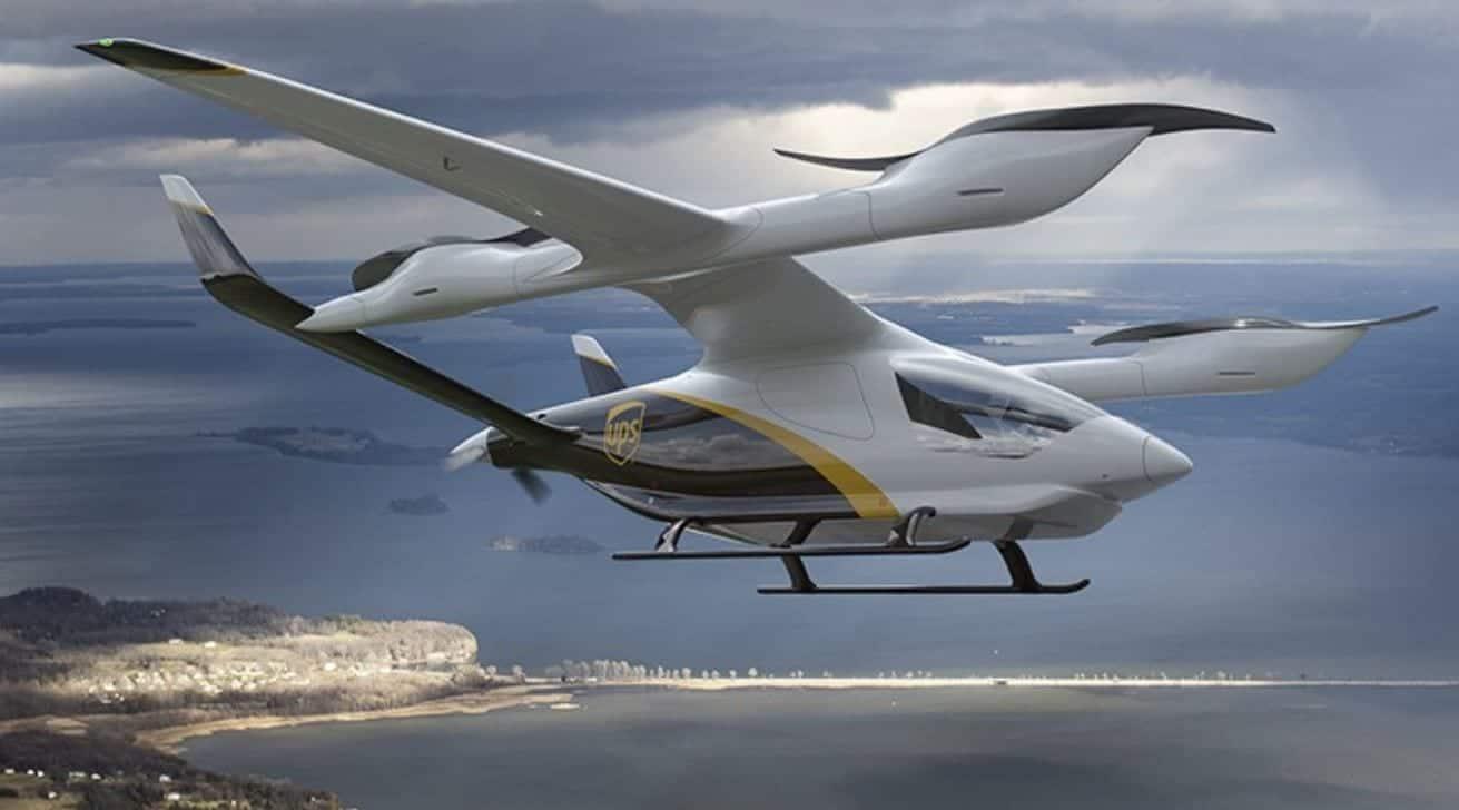 Droni UPS per trasporto