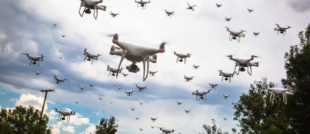 Produzione di droni